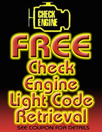 Free Check Engine Light Diagnostic Test